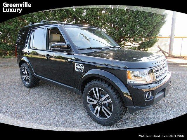 2014 Land Rover LR4 HSE LUX