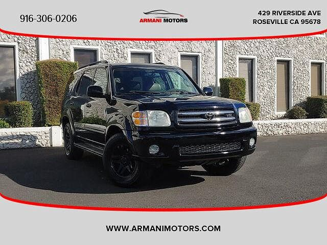 2003 Toyota Sequoia Limited Edition