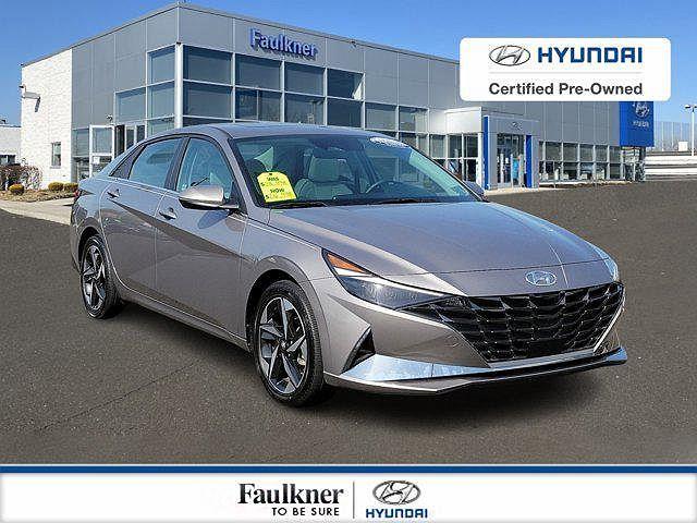 2021 Hyundai Elantra Limited Edition