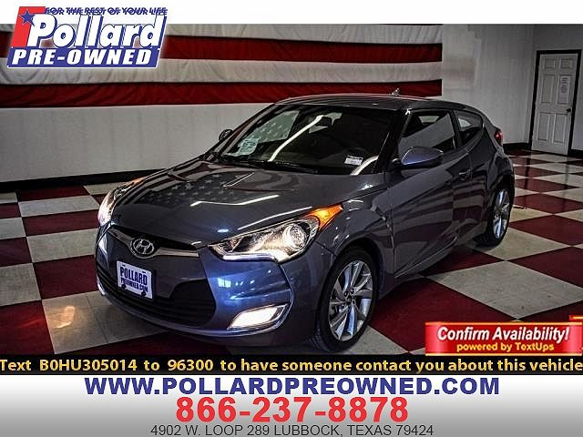 Car Dealerships In Lubbock Tx >> 2017 Hyundai Veloster Value Edition For Sale In Lubbock Tx