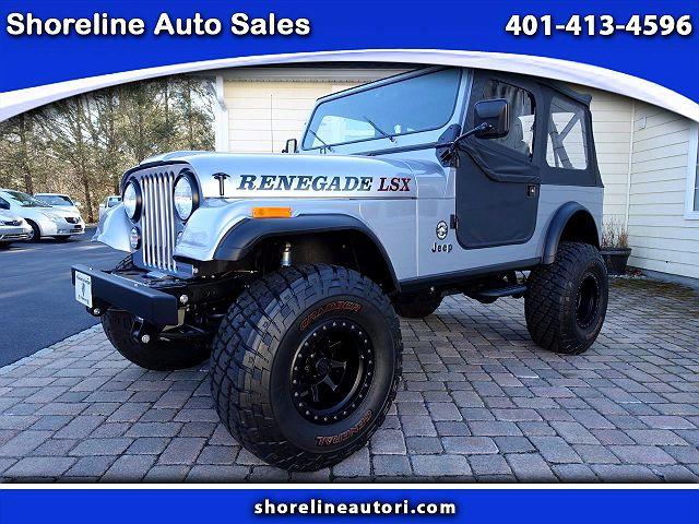 1984 Jeep CJ Renegade