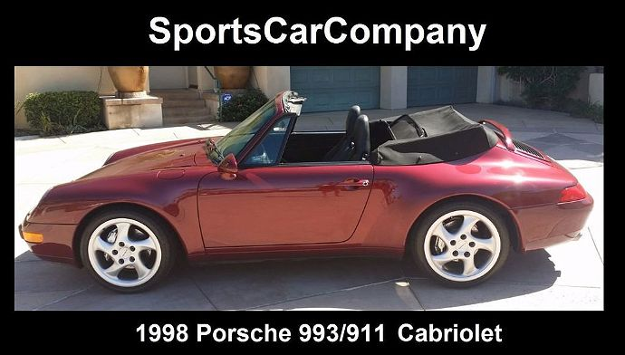 1998 Porsche 911 993 for sale in La Jolla, CA