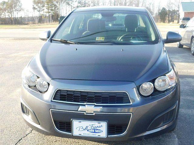 2012 Chevrolet Sonic LS LS2