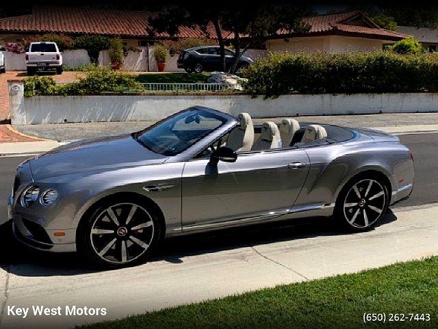 2017 Bentley Continental GTC S