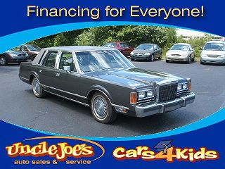 1989 Lincoln Town Car For Sale In