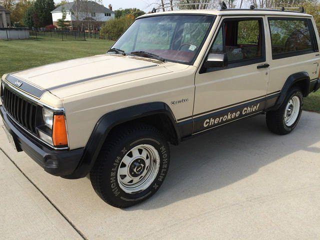 1984 Jeep Cherokee Chief