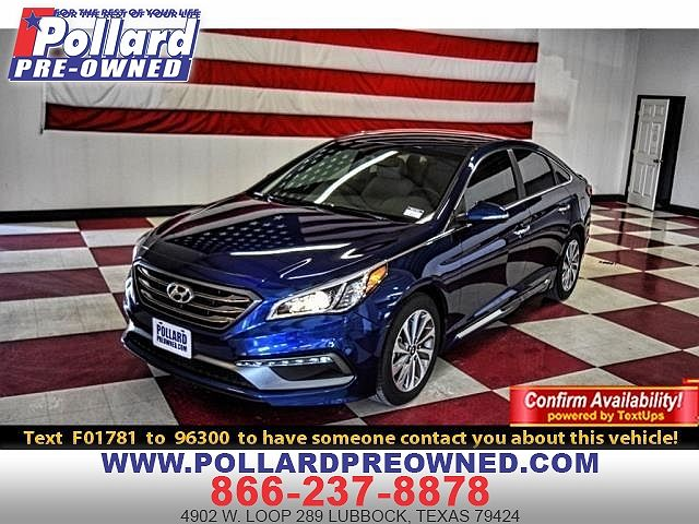 Car Dealerships In Lubbock Tx >> 2017 Hyundai Sonata Sport For Sale In Lubbock Tx